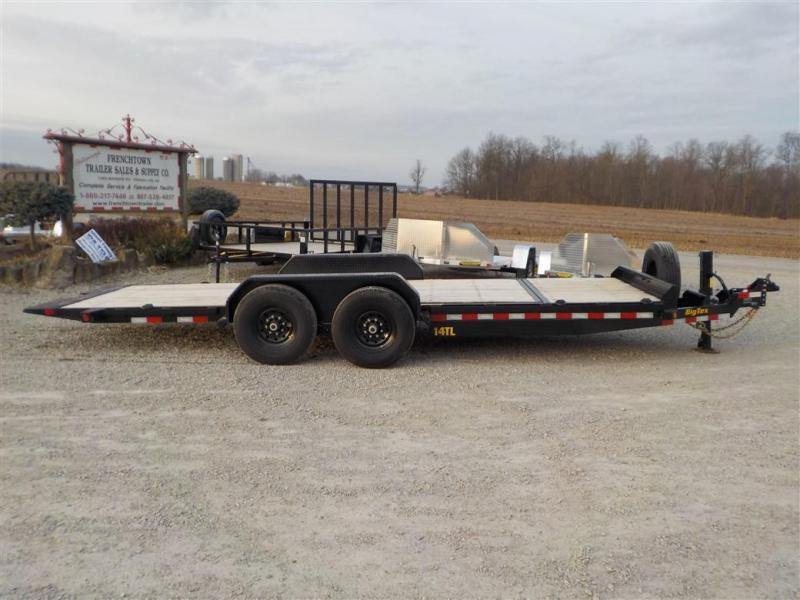 2020 Big-Tex Trailers 14TL- 20BK MR Equipment Trailer