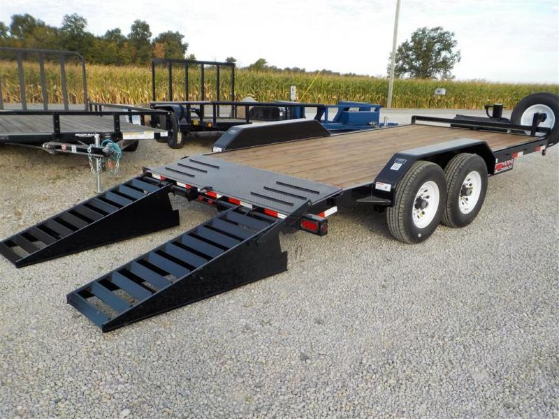 2020 Trailerman Trailers Inc. CST 7142S14 Equipment Trailer