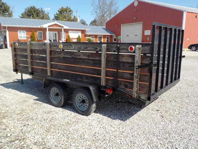 1998 Cox Signature Series 614LT  Utility Trailer **USED**