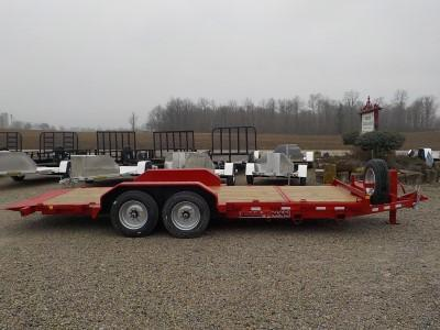 2020 Trailerman Trailers Inc. CTT7416N14 Tilt Equipment Trailer