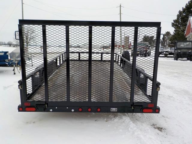 2019 Big Tex Trailers 70PI - 16BK4RG Utility Trailer SCRATCH AND DENT