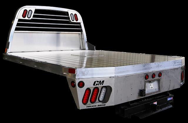 """CM AL RD Truck Bed 8'6"""" X 97"""" X 56"""" - 58"""" X 42"""""""