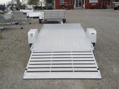 2021 Aluma 7210 S-TG-LW Utility Trailer