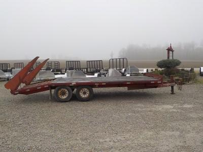 2004 Trailerman Trailers Inc. CDT8165012 Equipment Trailer ** USED **