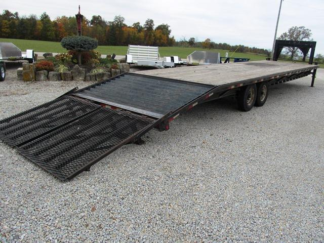 2013 Trailerman Trailers Inc. HHG8305F14 Equipment Trailer **USED**