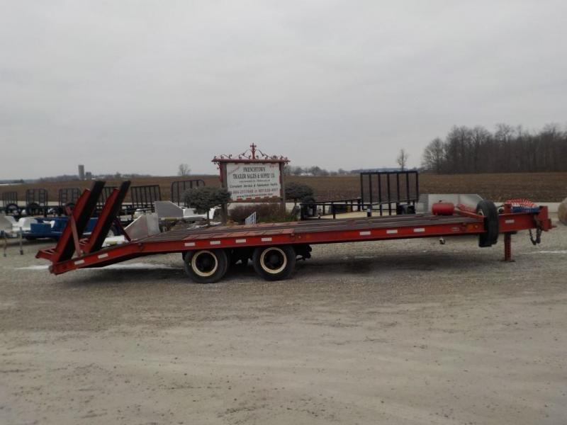 1994 Dyna-Weld Heavy Duty Equipment Trailer Equipment Trailer