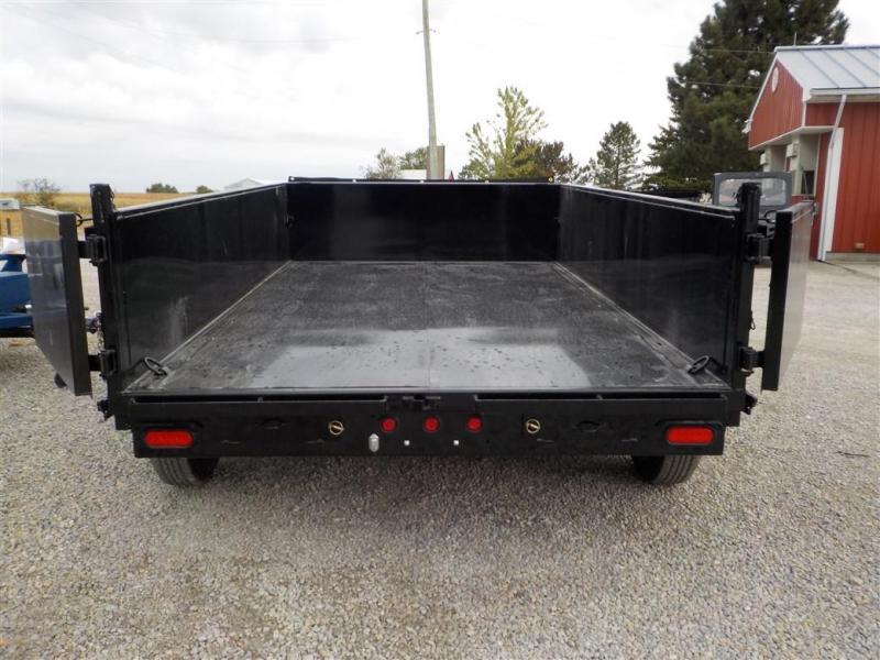 2020 Big Tex Trailers 10SR-12XL BK7SIR Dump Trailer