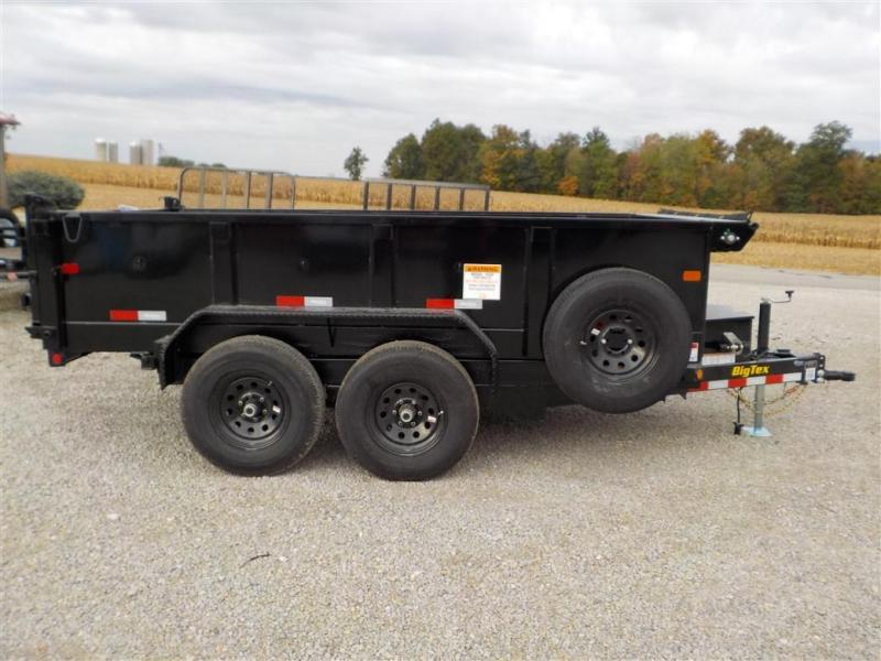 2020 Big Tex Trailers 10SR-12XL BK7SIR Dump Trailer