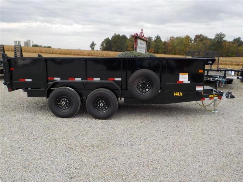 2020 Big Tex Trailers 14LX-16 BK7SIR Dump Trailer
