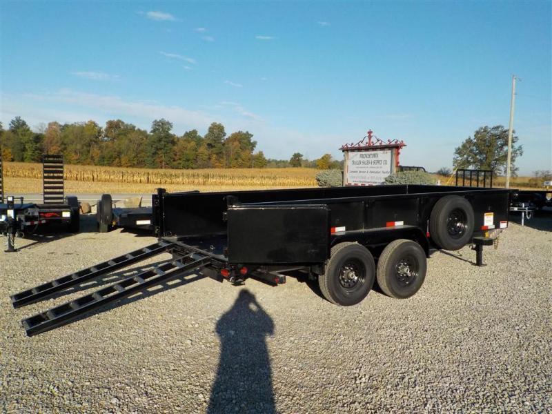 2020 Big Tex Trailers 14LP-16 BK6SIRPD Dump Trailer