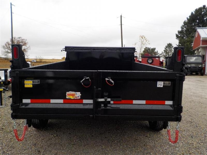 2020 Quality Steel and Aluminum 8312D 12K Dump Trailer