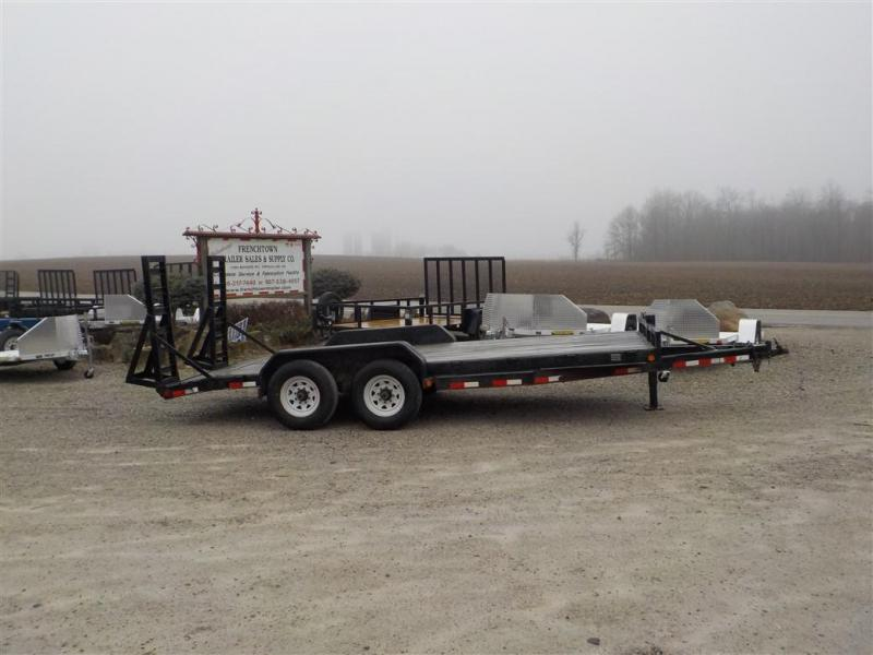 2008 PJ Trailers CC182 Equipment Trailer