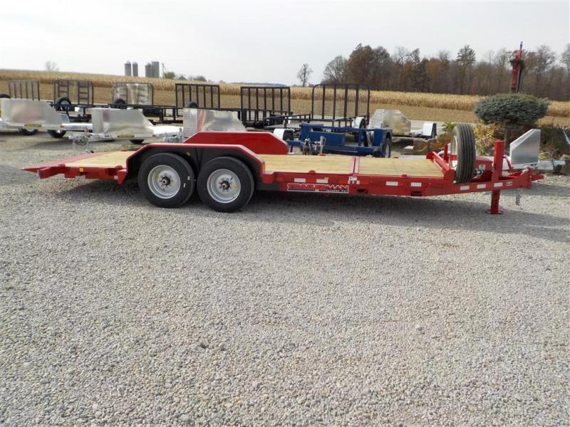 2020 Trailerman Trailers Inc. CTT7416N14 CUSHION TILT Equipment Trailer