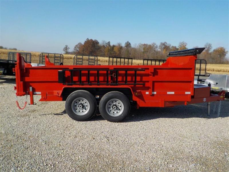2020 Quality Steel and Aluminum 8314D 14K Dump Trailer