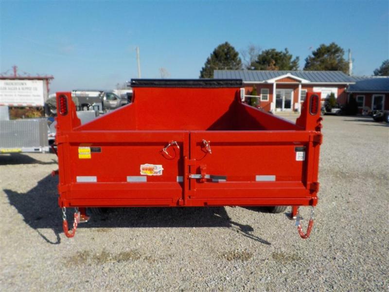 2020 Quality Steel and Aluminum 8314D 14K Dump Trailer