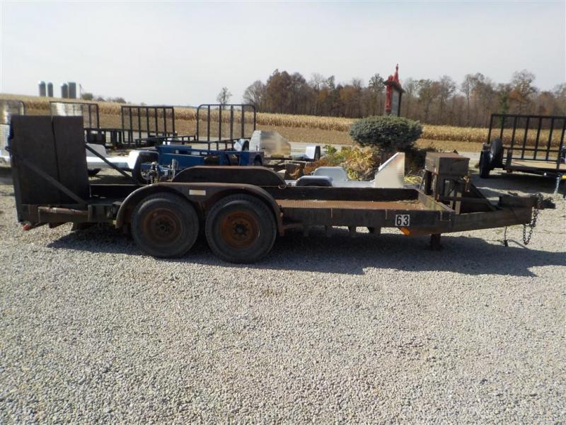 2002 Homemade 7616 Equipment Trailer