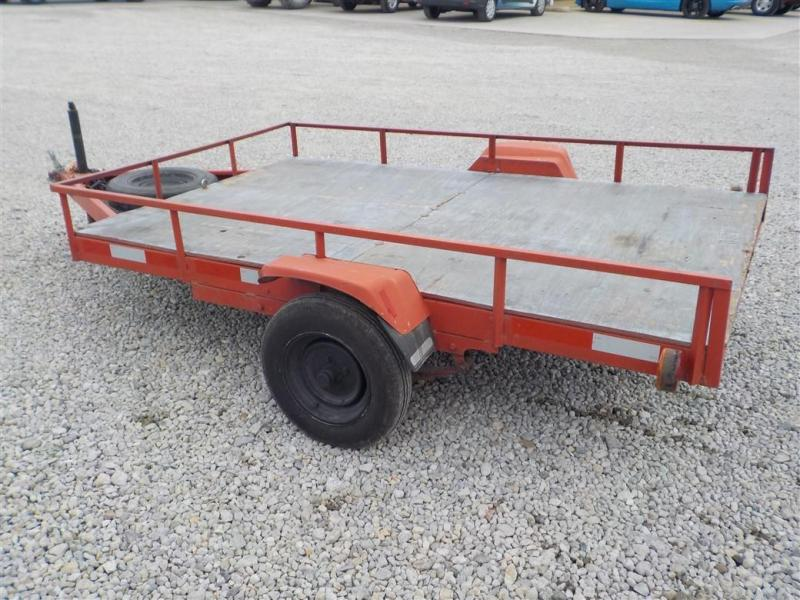 "1998 Homemade 60"" X 8' Utility Trailer"