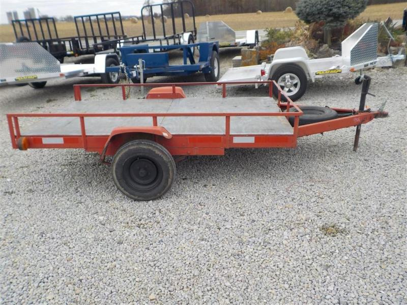 "1998 Homemade 60"" X 8' Utility Trailer **USED**"