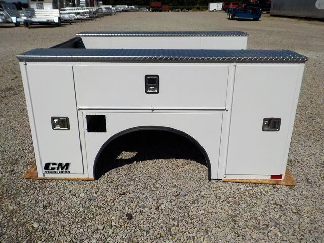 CM 8178 40 VV SS Truck Bed Service Body