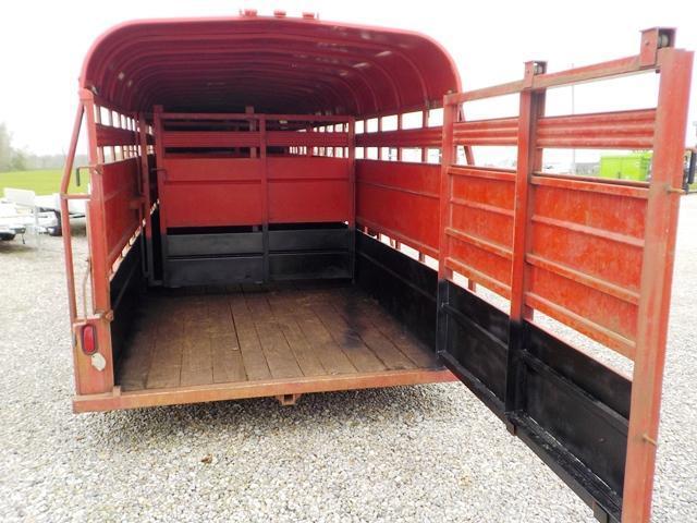 1993 CornPro Trailers SG24 Livestock Trailer **USED**