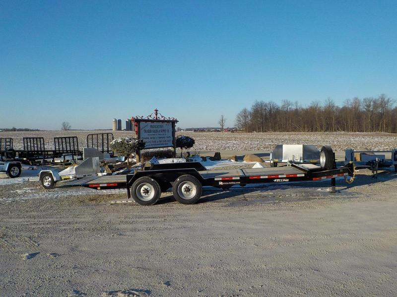 2020 Felling Trailers  FT-16IT-I Heavy Duty Tilt Equipment Trailer