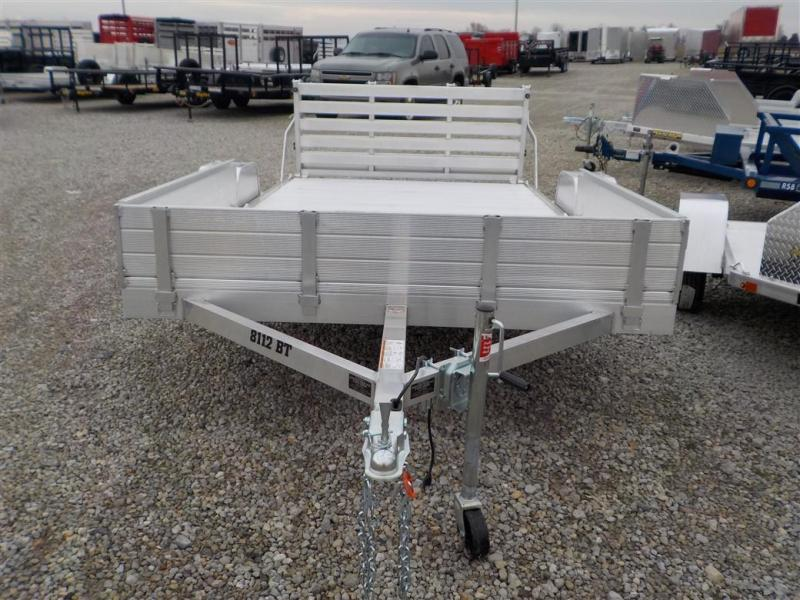2020 Aluma 8112 S-R-BT Utility Trailer