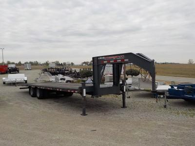 2015 Trailerman Trailers Inc. HHG82210 H20 LO-PRO Equipment Trailer