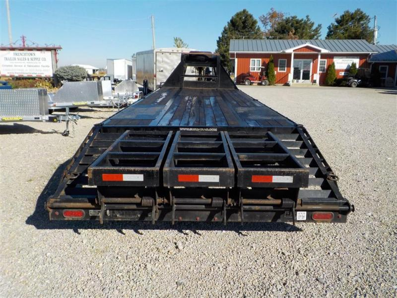 2018 Sure-Trac ST102255 G.N. Deckover Equipment Trailer **USED**