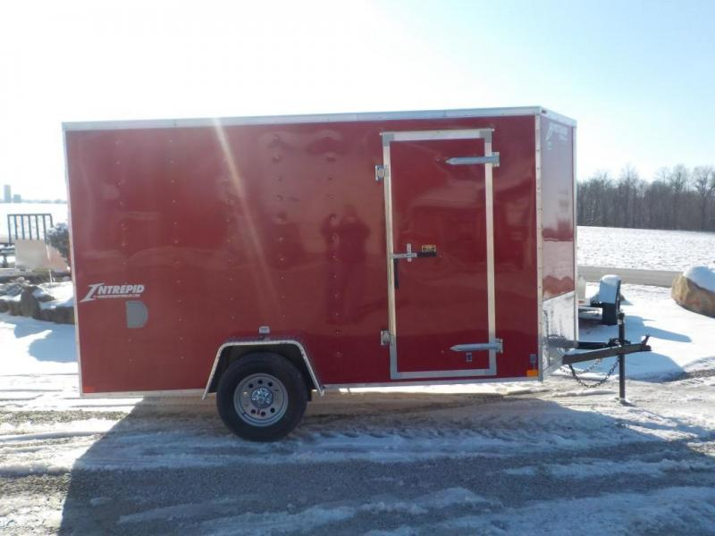 2020 Homesteader Intrepid 612 IS Enclosed Cargo Trailer