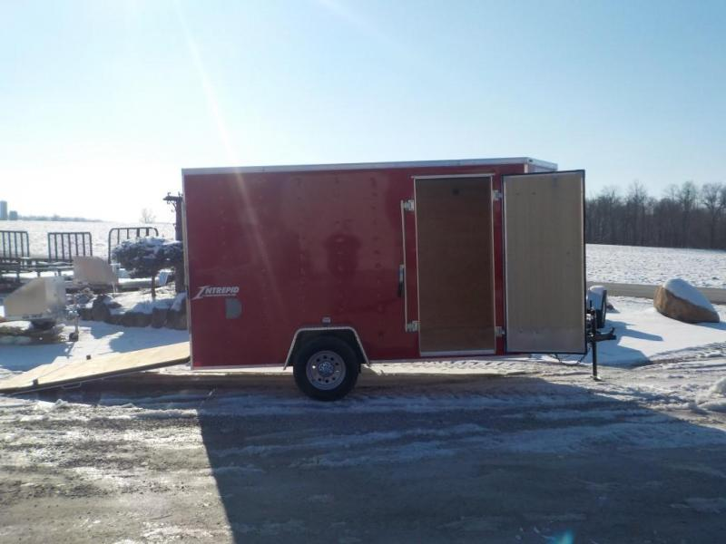 2020 Homesteader Intrepid 612 IS Enclosed Cargo Trailer