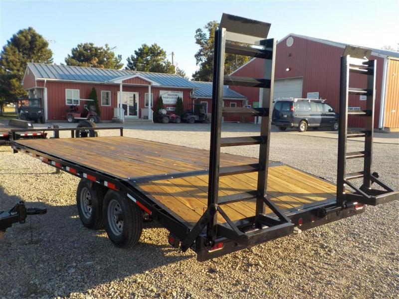 2020 Quality Steel and Aluminum 102164DO10K Equipment Trailer