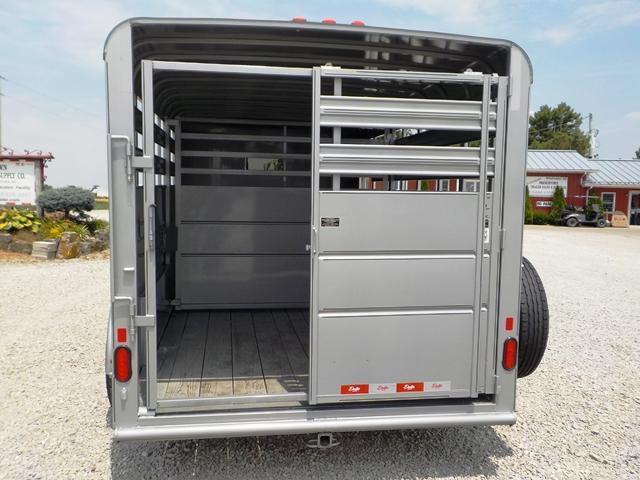 2020 Delta Manufacturing 500 SERIES 14K Livestock Trailer