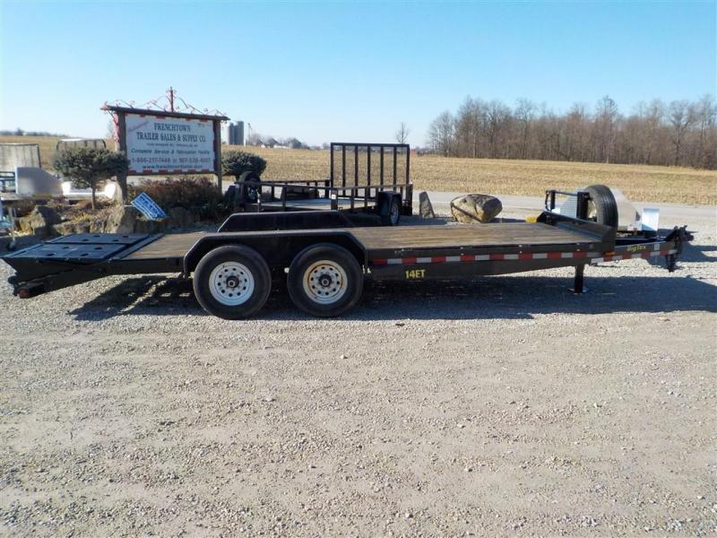 2017 Big Tex Trailers 14ET 20BK MR Equipment Trailer **USED**