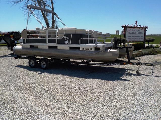1983 Harris 20' Pontoon Boat & Trailer - **USED**