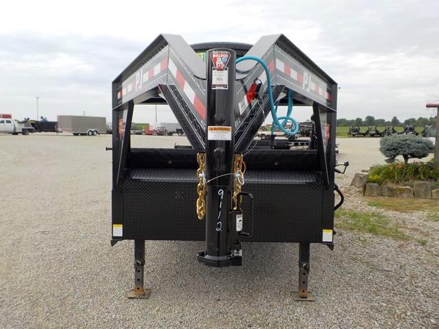 2020 PJ Trailers DLR1692BSSOP Lo-Pro G.N. Dump Trailer