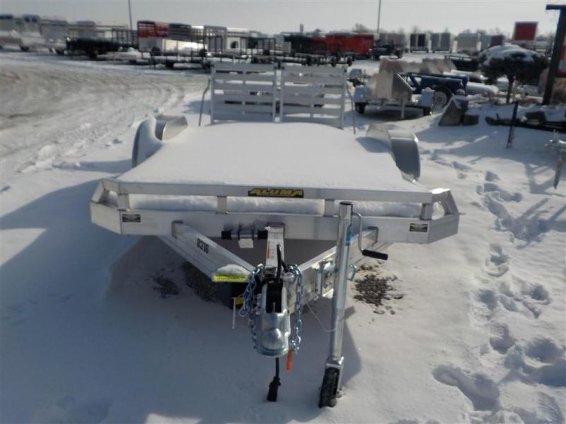 2020 Aluma 8216 R BT Utility Trailer