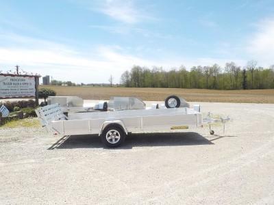 2021 Aluma 8114 S-BT-SS Utility Trailer