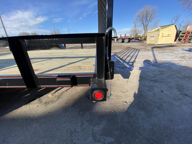 2020 DIAMOND T TRAILER 83-16RampGate Flatbed Trailer