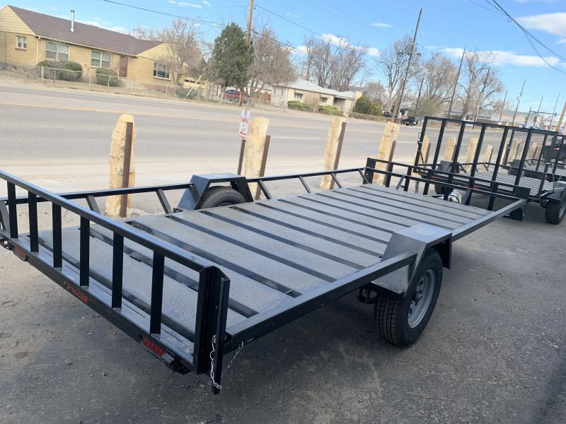 2020 ECHO TRAILERS 3 Place ATV EE-14-14 Flatbed Trailer