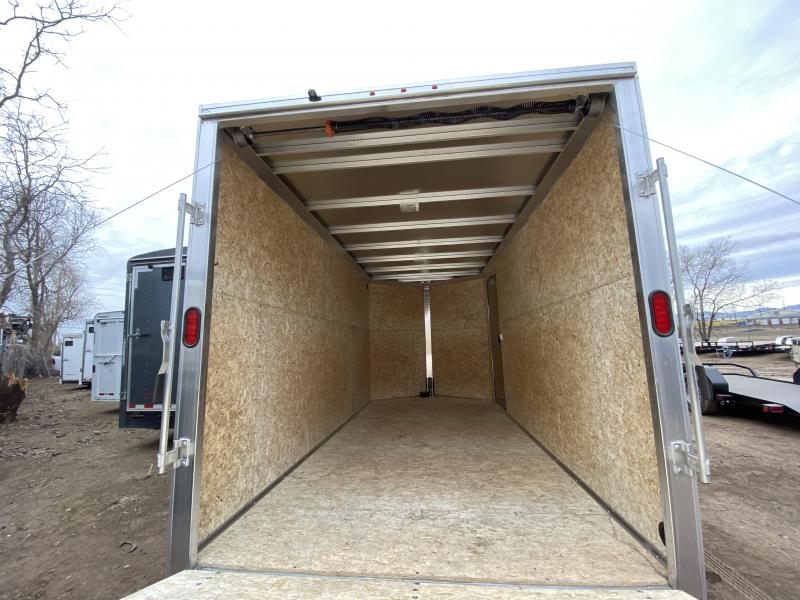 2019 ALCOLM LLC 7-14Enclosed Enclosed Cargo Trailer