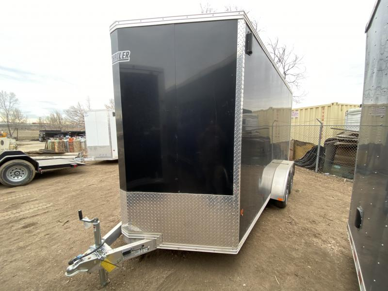 2019 ALCOLM LLC 7-14Enclosed Enclosed Cargo Trailer