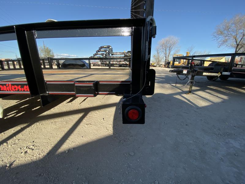 2019 DIAMOND T TRAILER 83-12RampGateATVUtility Flatbed Trailer