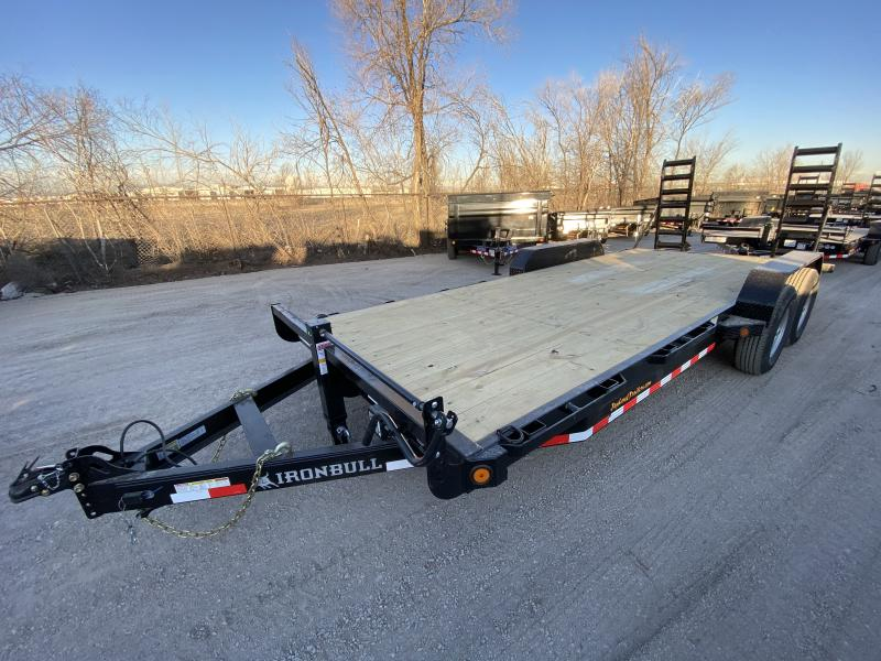 2020 NORSTAR 83-HD20EquipmentHauler Flatbed Trailer