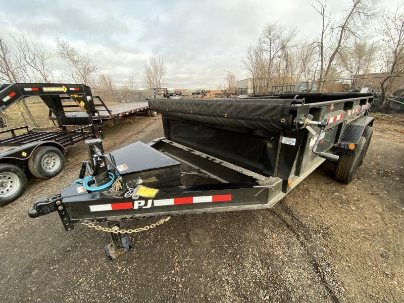 2020 PJ TRAILERS 83-14Dump Dump