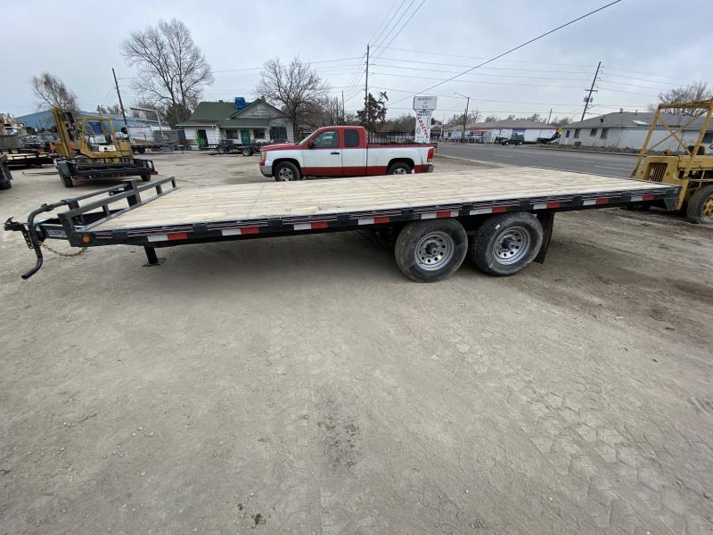2020 DIAMOND T TRAILER 102-20DeckOver Flatbed Trailer