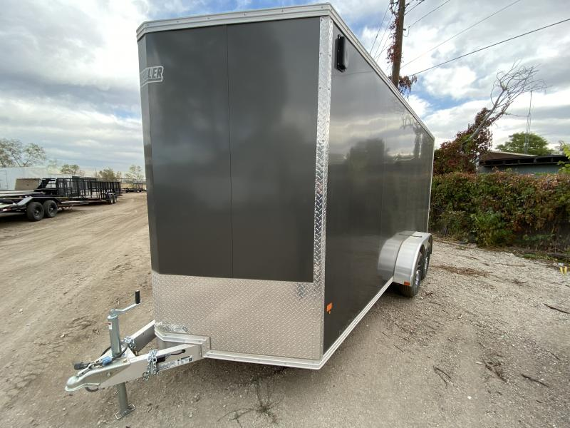 2019 ALCOLM LLC 7-16Enclosed Enclosed Cargo Trailer