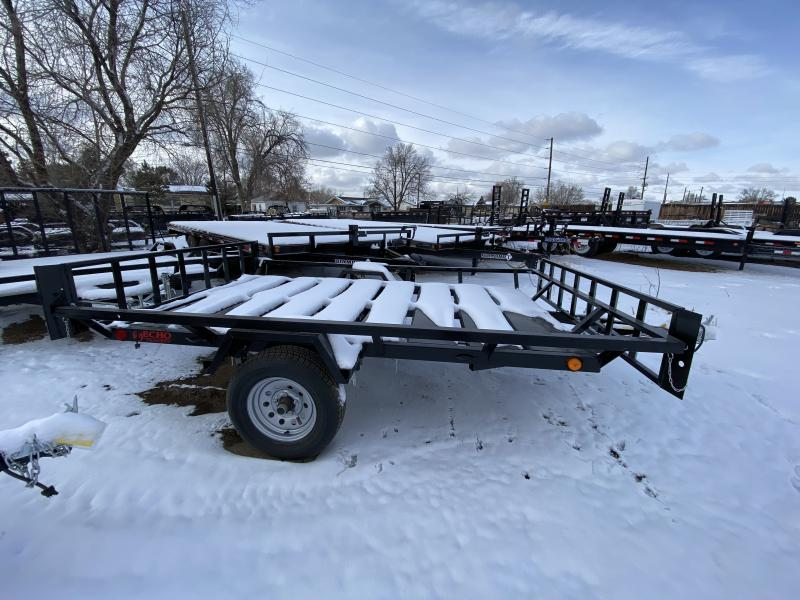 2020 ECHO TRAILERS 2 Place ATV EE-9-13 Flatbed Trailer