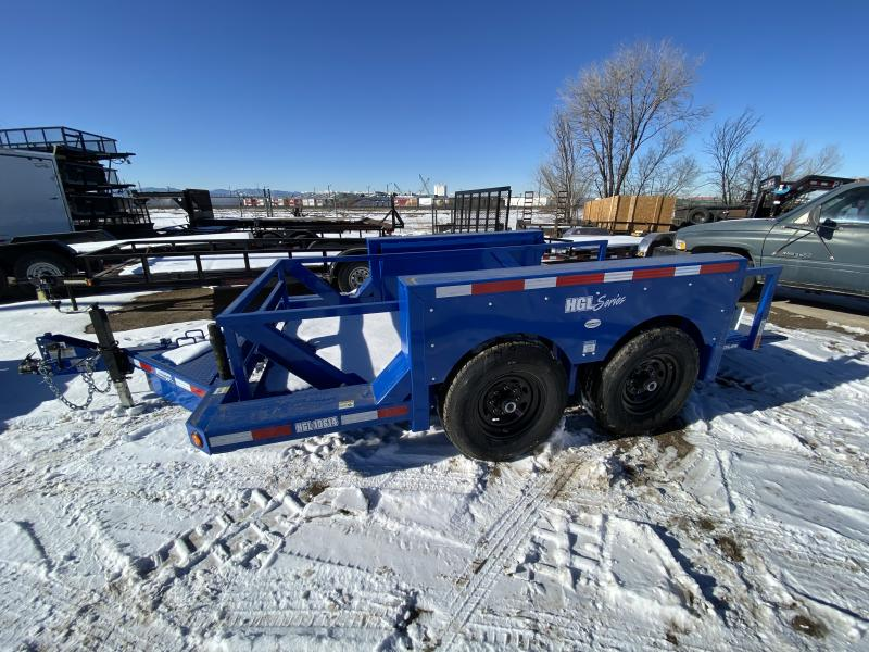 2019 ANDERSON MANUFACTURING INC. 6-14HydraulicFloor Flatbed Trailer
