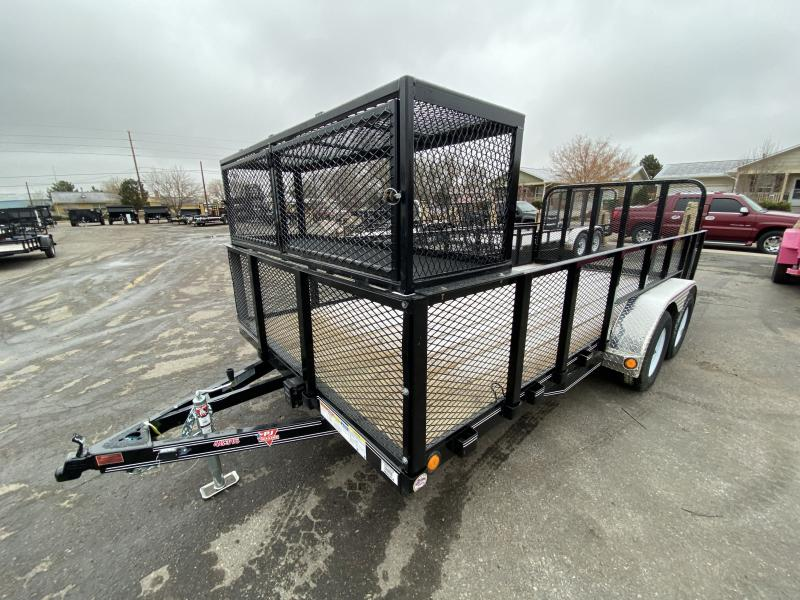 2019 PJ TRAILERS 83-16RampGateLandscapeUtility Flatbed Trailer