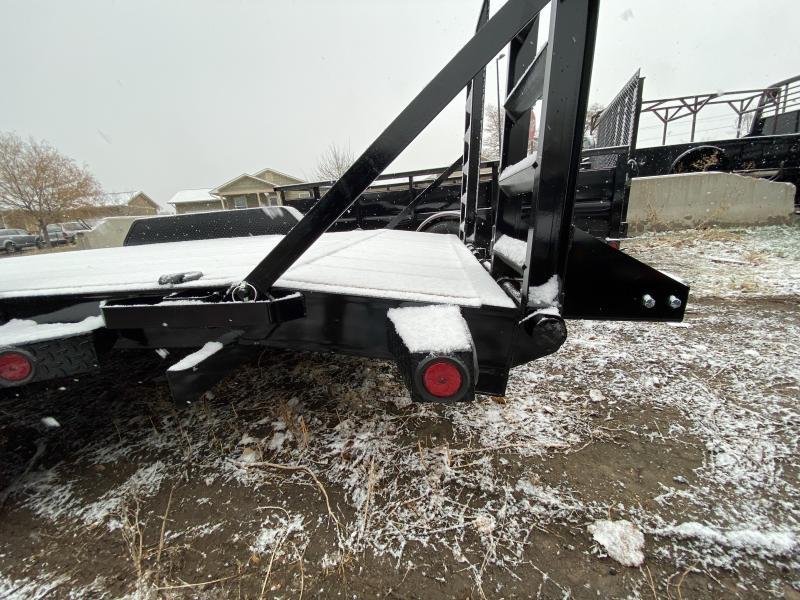 2020 NORSTAR 83-HD18EquipmentHauler Flatbed Trailer